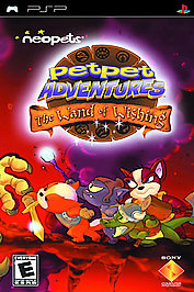 Neopets: Petpet Adventures - The Wand of Wishing - PSP - Used