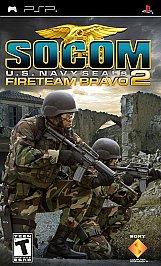 SOCOM: U.S. Navy SEALs Fireteam Bravo 2 - PSP - Used