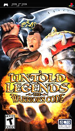 Untold Legends: The Warrior's Code - PSP - Used