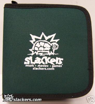 Green Slackers Logo 32 Disc CD Wallet - Music Accessory - New