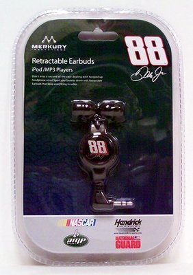 Nascar Earbuds 88 Dale Earnhardt Jr - Music Accessory - New