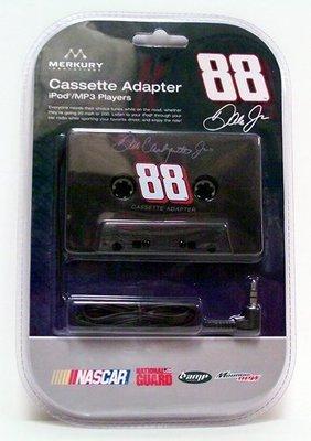 Nascar Cassette Tape Adapter 88 Dale Earnhardt Jr - Music Accessory - New