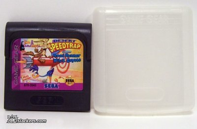 Desert Speedtrap Road Runner - Game Gear - Used