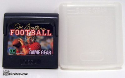 Joe Montana Football - Game Gear - Used