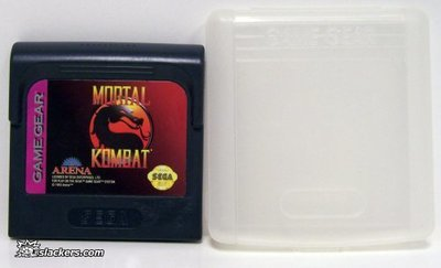 Mortal Kombat with klamshell kase - Game Gear - Used