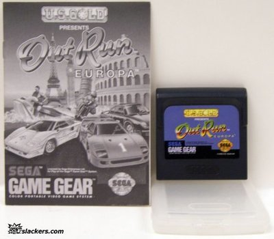 OutRun Europa with manual - Game Gear - Used
