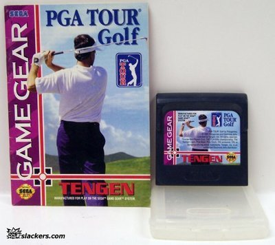 PGA Tour Golf with manual - Game Gear - Used