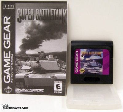 Super Battletank with manual - Game Gear - Used