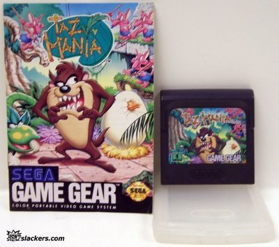 Taz-Mania with manual - Game Gear - Used