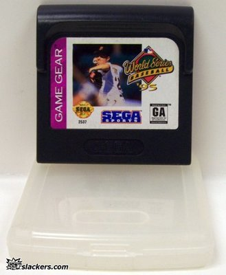 World Series Baseball '95 - Game Gear - Used