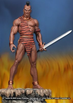 Conan the Barbarian Zula Statue