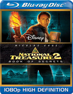 National Treasure 2: Book of Secrets - Blu-ray - Used