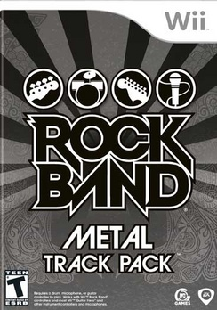 Rock Band Metal Track Pack - Wii - New