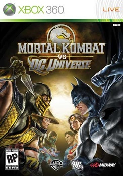 Mortal Kombat vs DC Universe - XBOX 360 - New