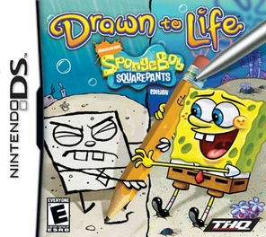 Drawn To Life Spongebob Squarepants Edition - DS - Used
