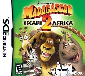 Madagascar Escape To Africa - DS - Used