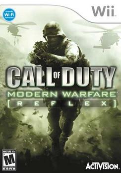 Call Of Duty: Modern Warfare Reflex - Wii - Used