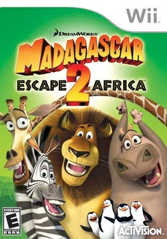 Madagascar Escape To Africa - Wii - Used