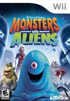 Monsters vs Aliens - Wii - Used