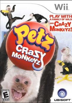 Petz Crazy Monkeyz - Wii - Used