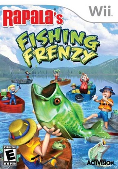 Rapala's Fishing Frenzy (no controller included) - Wii - Used