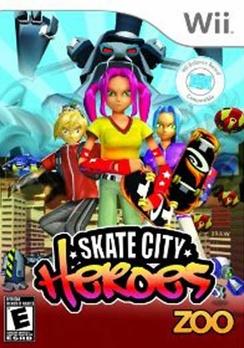 Skate City Heroes - Wii - Used