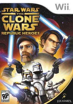 Star Wars The Clone Wars Republic Heroes - Wii - Used