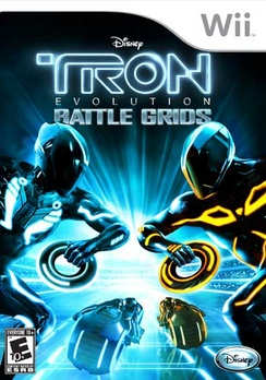 Tron Evolution Battle Grids - Wii - Used