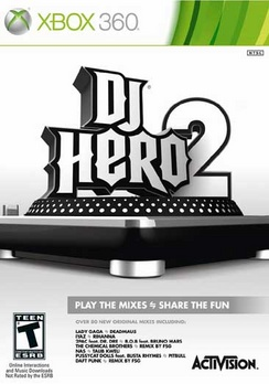 DJ Hero 2 (sw) - XBOX 360 - Used