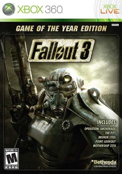 Fallout 3 Game Of The Year Edition - XBOX 360 - Used