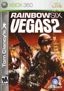 Rainbow Six Vegas 2 Tom Clancys - XBOX 360 - Used