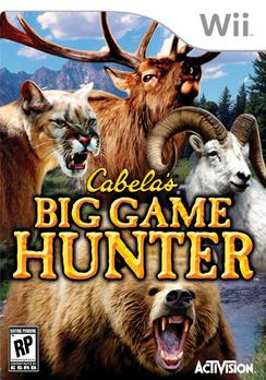 Cabela's Big Game Hunter - Wii - Used