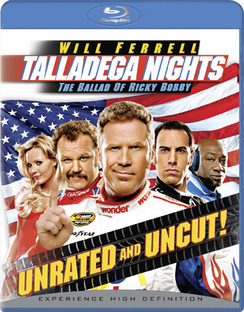 Talladega Nights: The Ballad of Ricky Bobby - Blu-ray - Used