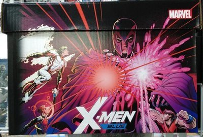 X-Men Blue and Gold Comic Storage Box set