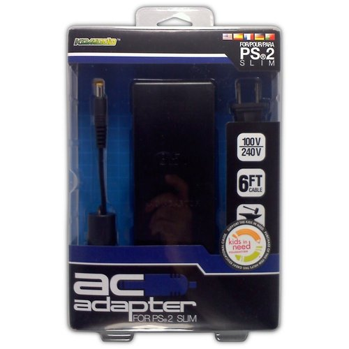 AC Adapter for PS2 Slim - Game Accessory - New