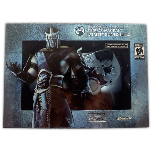Mortal Kombat Fatality Kontroller (Sub-Zero) for PS2 - Game Accessory - New