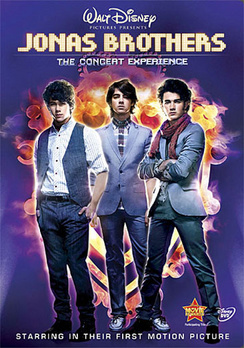 Jonas Brothers: The 3D Concert Experienc - DVD - used