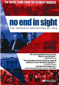 No End in Sight - Widescreen - DVD - used