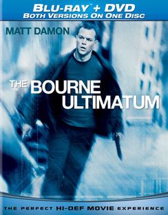 Bourne Ultimatum - Combo Format - DVD + Blu-ray - Used