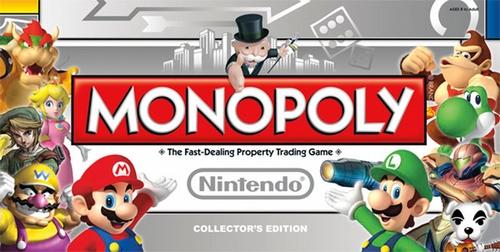 Monopoly: Nintendo Collector's Edition - New