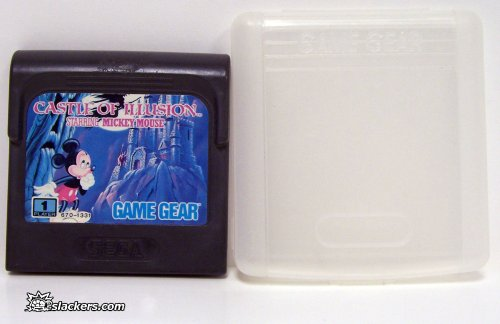 Castle of Illusion Starring Mickey Mouse - Game Gear - Used