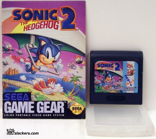 Sonic the Hedgehog 2 with manual - Game Gear - Used