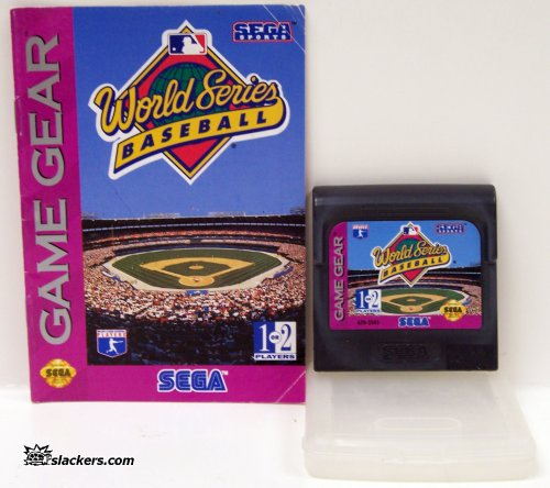 World Series Baseball with manual - Game Gear - Used