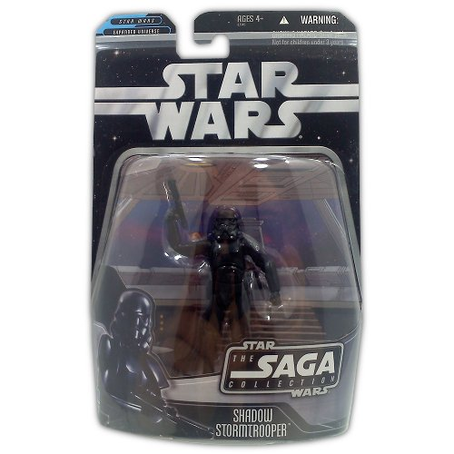 Star Wars The Saga Collection Shadow Stormtrooper - Action Figure - New