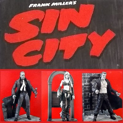 Sin City Diamond Select Figure - Choose Your Favorite