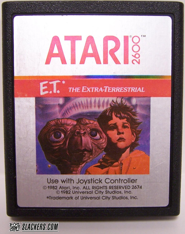 E.T. The Extra-Terrestrial - Atari 2600 - Used