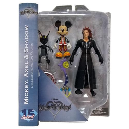 Diamond Select - Axel, Mickey, and Shadow (Kingdom Hearts)