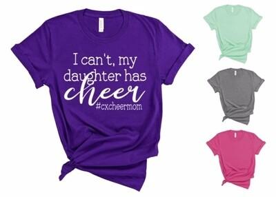 #cxcheermom T-shirt