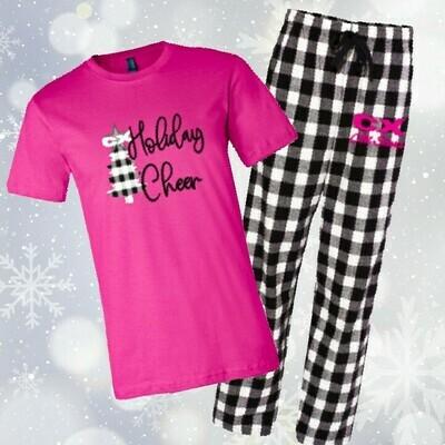 Holiday Shirt & Pajama Pants Set