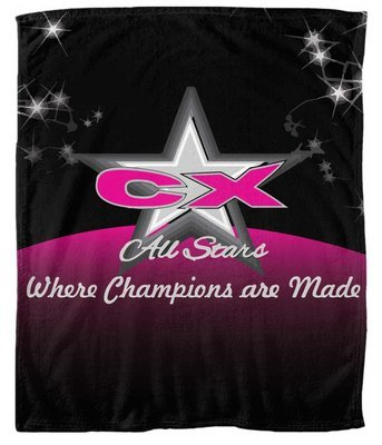 Personalized Queen-Sized CX Soft Blanket